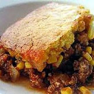 Beefy Southern Cornbread Pie