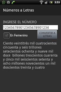 Números a letras- screenshot thumbnail