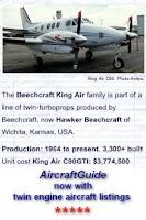 Screenshot of Aircraft Guide civil aircraft