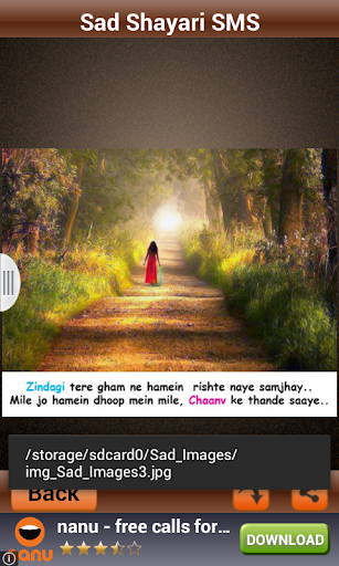 玩娛樂App|Sad Shayari SMS And Images免費|APP試玩