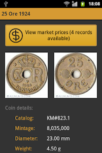 Danish Coins - screenshot thumbnail