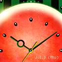 WaterMelon-Clock Trial icon