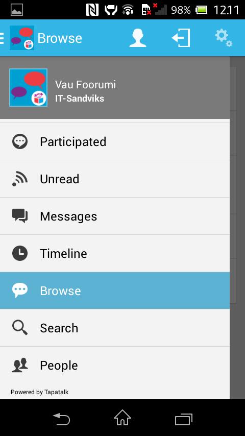 Vau.fi Foorumi - screenshot