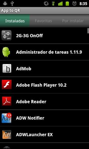App to QR screenshot 1