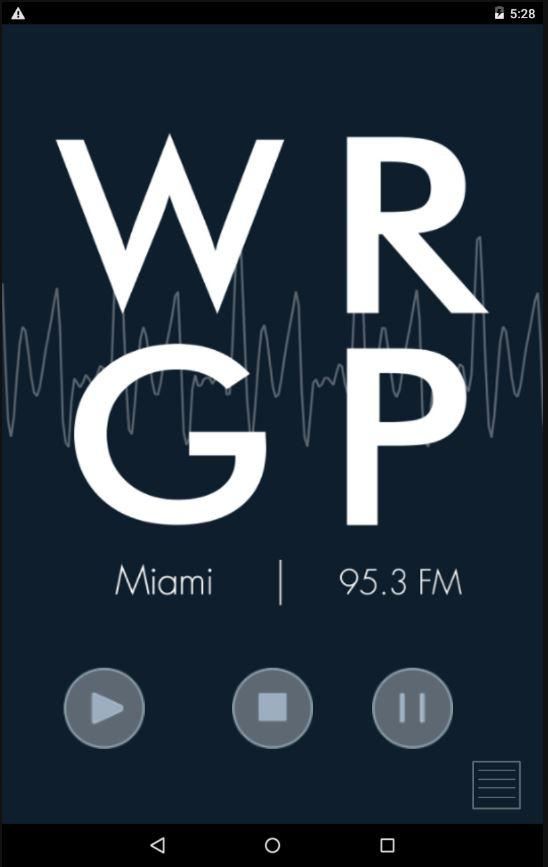 WRGP - FIU Student Radio - screenshot