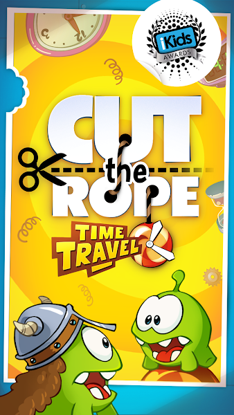 Cut the Rope: Time Travel v1.6.0 [Mod Hints/Power/Unlocked]