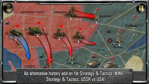 Strategy & Tactics:USSR vs USA Screenshot 6