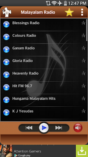 Malayalam Radio - Songs Music