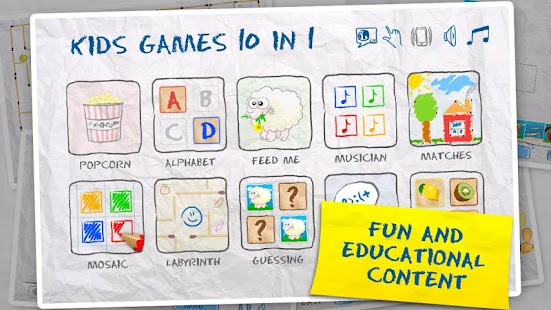 Kids Games (10 in 1) - screenshot thumbnail