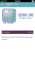 Screenshot of The Bert Show