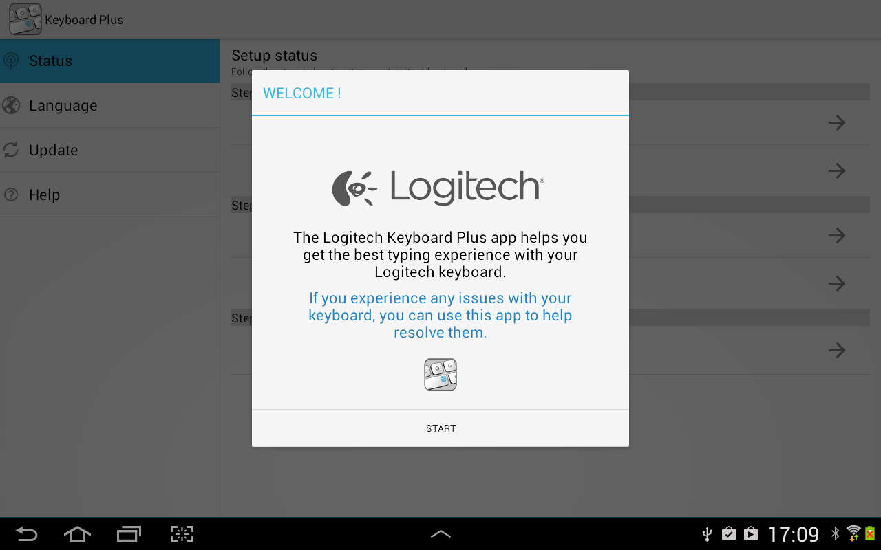 Logitech Keyboard Plus- screenshot