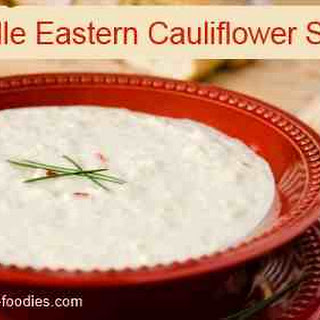 Middle Eastern Cauliflower Soup