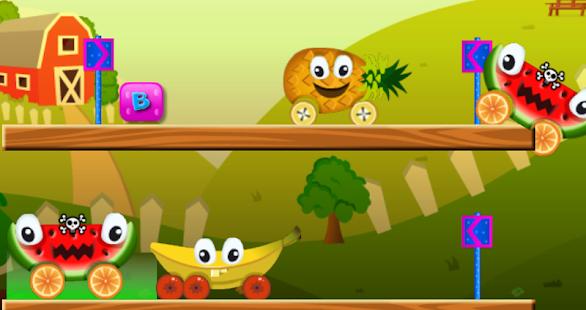 幼兒汽車 - 水果拼