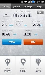 Columbia's GPS PAL™ - screenshot thumbnail