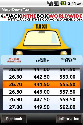 MeterDown™ - Mumbai Taxi - screenshot