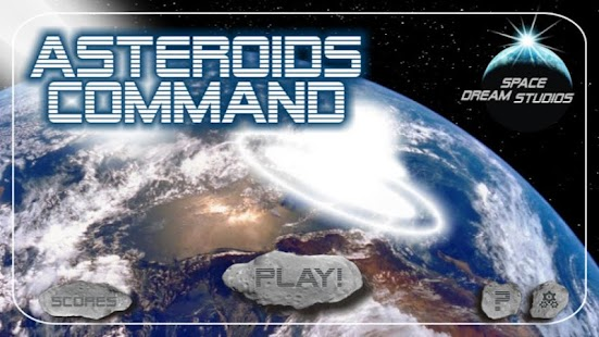 Asteroids Command - screenshot thumbnail