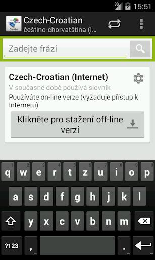 Češtino-Chorvatština slovník