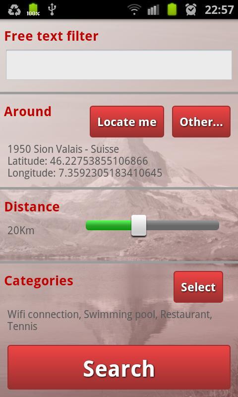 Campings Valais-Wallis- screenshot
