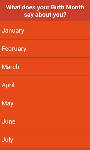 【免費娛樂App】Your Birth Month meaning-APP點子