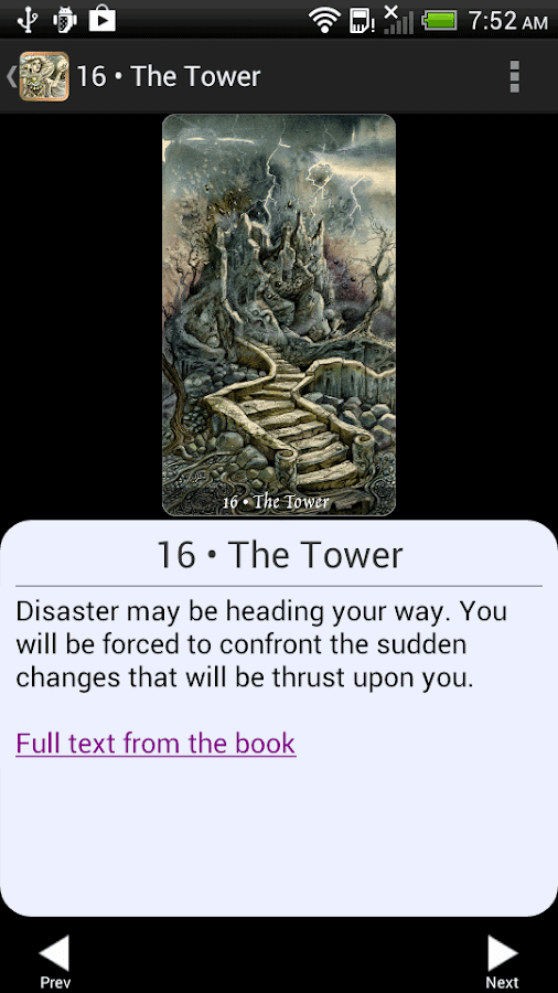 Ghosts & Spirits Tarot- screenshot