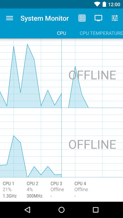 System Monitor Lite - screenshot