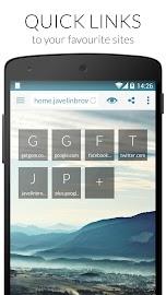 Javelin Browser Screenshot 1