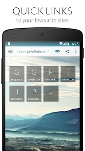 Javelin Browser- screenshot thumbnail
