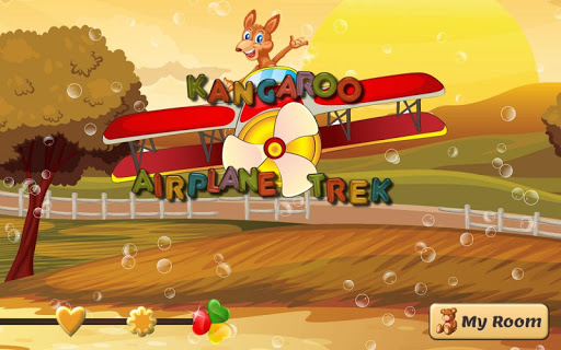 【免費解謎App】Kangaroo Airplane Trek-APP點子