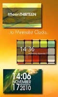 Screenshot of One More Clock Widget Free