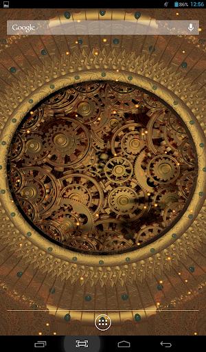 Steampunk Sun Live Wallpaper