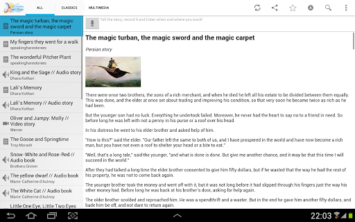 English bedtime stories [free] Screenshot