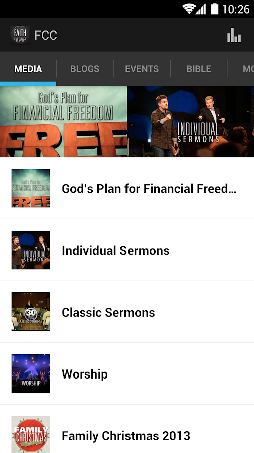 Faith Christian Center - screenshot