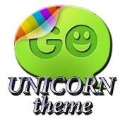 Unicorn theme Go SMS Pro