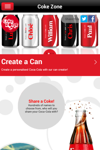 Coke Zone - screenshot