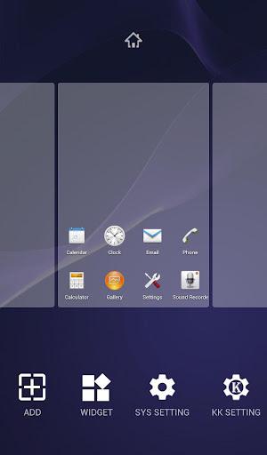 【免費個人化App】eXperian-Z3 Theme -KK Launcher-APP點子