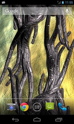 Metal Growing Roots Nexus 4