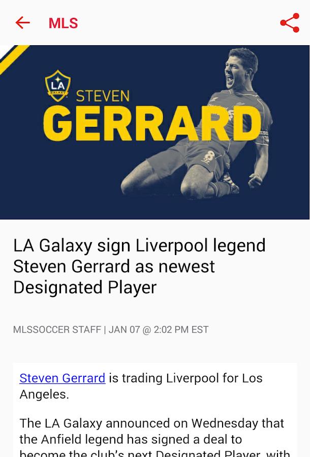 MLS - screenshot