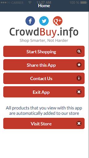 Crowdbuy Barcode Scanner