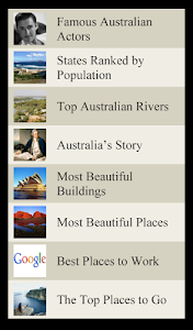 World Travel Lists - AUSTRALIA screenshot 4