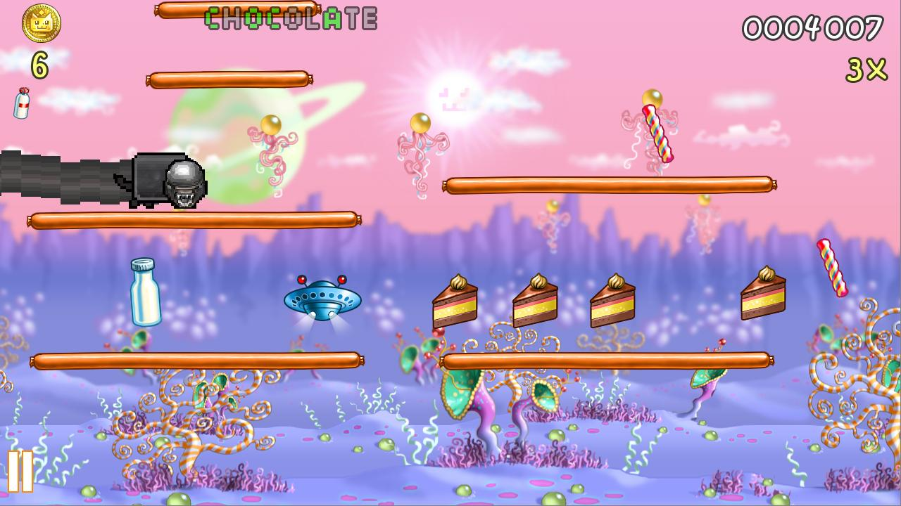Nyan Cat: Lost In Space- screenshot
