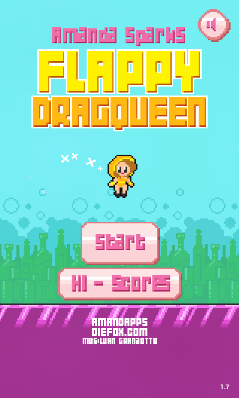 Flappy DragQueen- screenshot