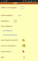 Screenshot of Easy Budget Pro (Français)
