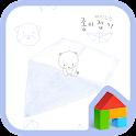 Funny origami Dodol Theme icon