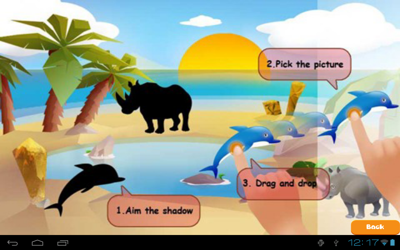 Kids Find the shadow lite- screenshot