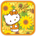 Hello Kitty Sunflowers Theme icon