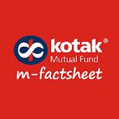 Kotak Mutual Fund m-factsheet
