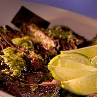 Gaucho Steak With 4-herb Chimichurri
