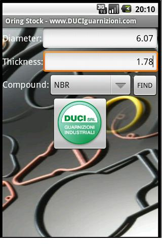 ORing Stock DUCI SRL- screenshot