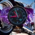Harley Davidson Bike Clock LWP icon