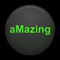 aMazing maze game logo